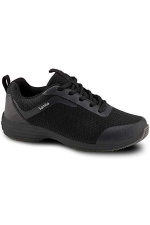 Sanita Unisex Adult Sneaker, czarne, 42 EU