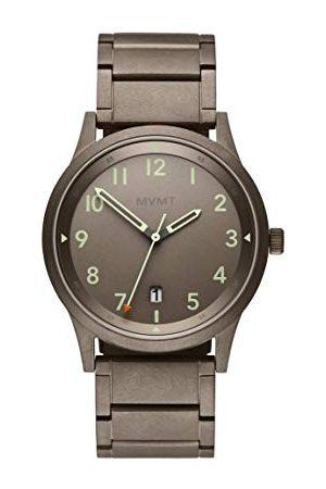 MVMT Męski analogowy zegarek kwarcowy z bransoletką ze stali szlachetnej 2800020-D
