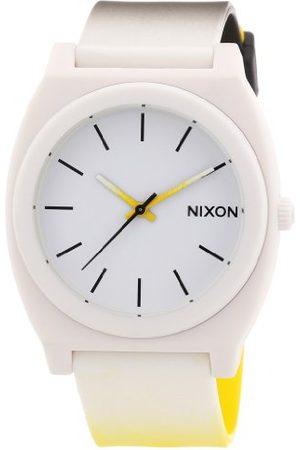 Nixon Męski zegarek kwarcowy The Time Teller A1191327-00 z metalowym paskiem
