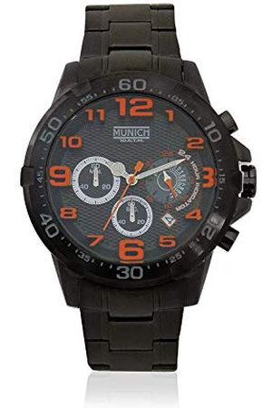 Munich Unisex dla dorosłych analogowy zegarek kwarcowy z bransoletką ze stali szlachetnej MU+139.1B