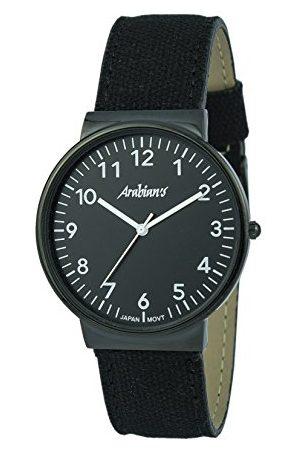 ARABIANS Męski analogowy zegarek kwarcowy z bransoletką z materiału HNA2236N