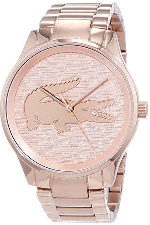 Lacoste Unisex analogowy zegarek kwarcowy z bransoletką ze stali szlachetnej 2001015