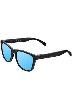 Northweek Unisex okulary przeciwsłoneczne dla dorosłych REGULAR DECK Negro/Azul Hielo, Adulto