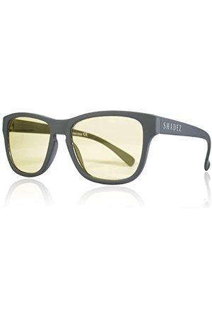 Shadez Unisex SHZ ND03 okulary przeciwsłoneczne dla dorosłych, szare (Grey), 50