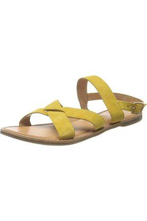 Kickers Sandały unisex Diba-2, żółty - żółty - 38 EU