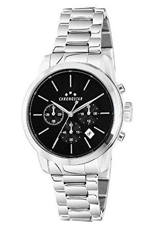 Chronostar Męski Multi cyferblat kwarcowy zegarek z bransoletką ze stali szlachetnej R3753270001