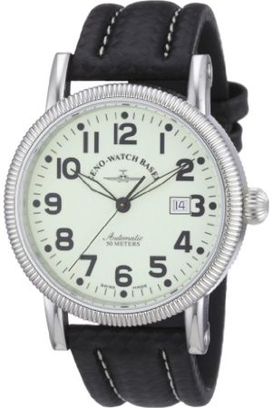 Zeno Męski automatyczny zegarek Nostalgia 1868 98079-s9 ze skórzanym paskiem