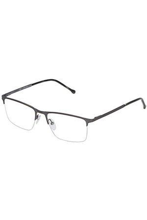 Loewe Unisex VLWA26M530K10 oprawka okularów, szara (Shiny Glossed Gunmetal), 55