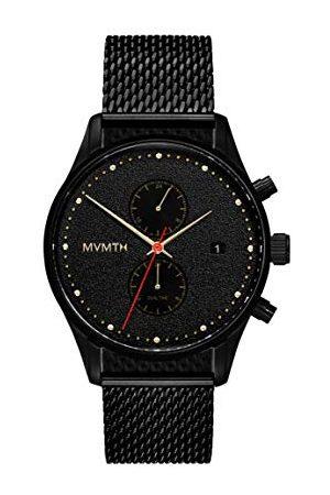 MVMT Męski analogowy zegarek kwarcowy z bransoletką ze stali szlachetnej 2800052-D