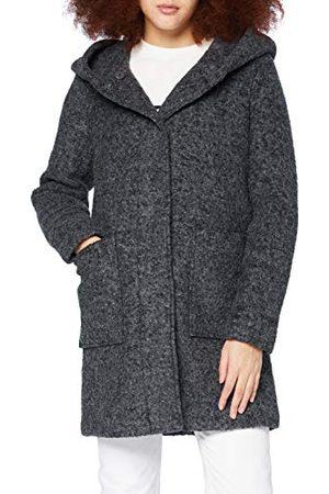 TOM TAILOR Damski płaszcz wełniany Boucle