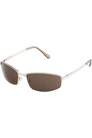Burgmeister Klasyczne markowe okulary przeciwsłoneczne dla mężczyzn od ze 100% ochroną UV | Okulary przeciwsłoneczne ze stabilną metalową oprawką, wysokiej jakości etui, woreczek na okulary.