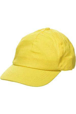 US BASIC 1202108b czapka bejsbolowa, żółty, pasuje do 58 cm