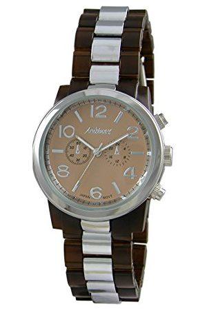Arabians Męski analogowy zegarek kwarcowy z plastikową bransoletką DBA2129M