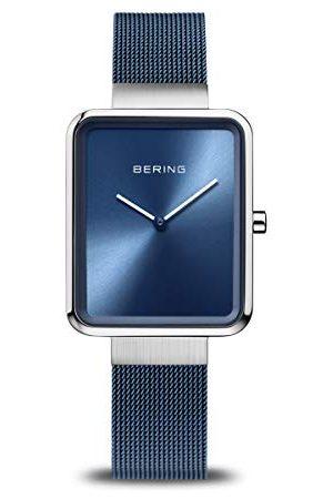 Bering Zegarki - Zegarek na rękę, uniseks, analogowy, kwarcowy, z bransoletką ze stali nierdzewnej bransoletka 28 mm /
