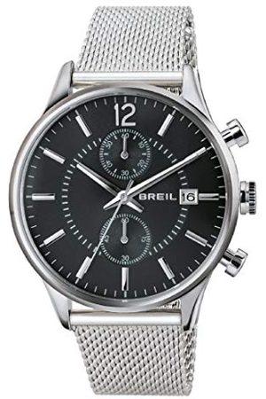 Breil Męski zegarek kwarcowy z chronografem z paskiem ze stali nierdzewnej TW1649