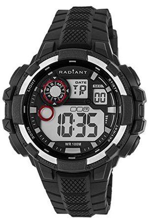 Radiant Męski zegarek cyfrowy z gumową bransoletką RA439602