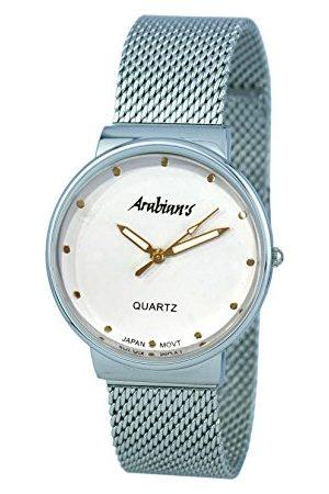 ARABIANS Męski analogowy zegarek kwarcowy z bransoletką ze stali szlachetnej DBP2262D