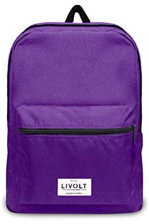 Livolt Royal Purple plecak dla dorosłych, uniseks, ciemnofioletowy, 30 l