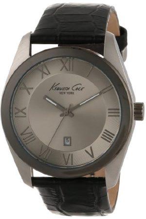 Kenneth Cole Męski zegarek kwarcowy ze skórzanym paskiem 10008374