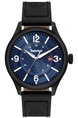 Timberland Męski analogowy zegarek kwarcowy ze skórzanym paskiem TBL14645JSU.03