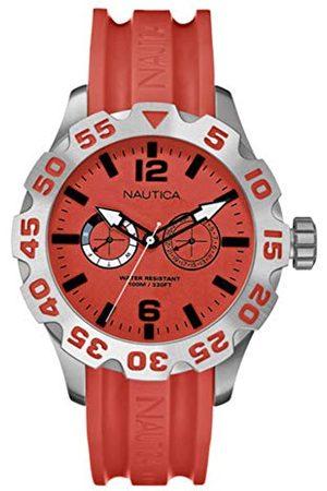 Nautica A16602G męski analogowy zegarek kwarcowy z plastikową bransoletką
