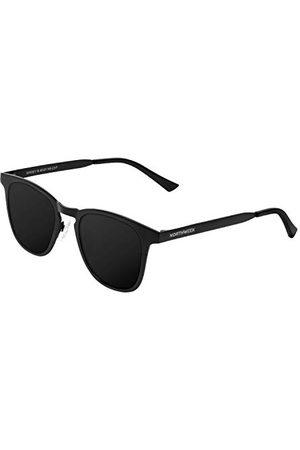 Northweek Unisex okulary przeciwsłoneczne dla dorosłych, wielokolorowe (All Black Polararized), 10.0