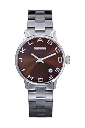 666Barcelona Uniseks dla dorosłych analogowy zegarek kwarcowy z bransoletką ze stali szlachetnej 66-277