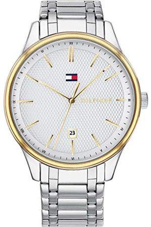 Tommy Hilfiger Unisex-dorosły klasyczny zegarek kwarcowy z paskiem ze stali nierdzewnej 1791491