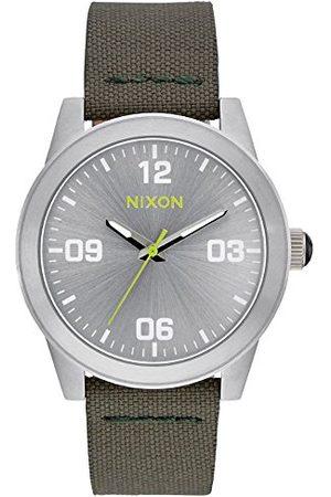 Nixon Damski analogowy kwarcowy zegarek z nylonowym paskiem A9642232
