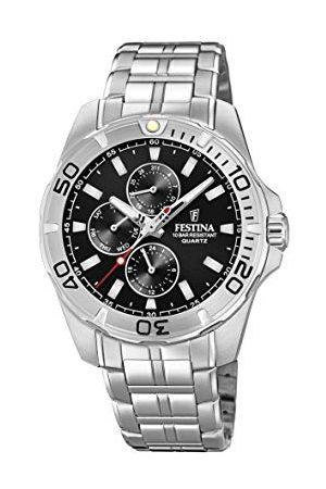 Festina F20445/3 zegarek kwarcowy z bransoletką ze stali nierdzewnej