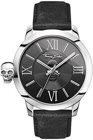 Thomas Sabo Męski zegarek na rękę analogowy kwarcowy skóra WA0296-218-203-46 mm