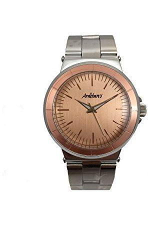 ARABIANS Męski analogowy zegarek kwarcowy z bransoletką ze stali szlachetnej DBH2188R