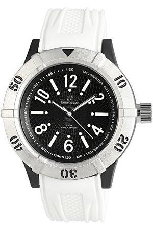 Shaghafi Męski analogowy zegarek kwarcowy z bransoletką kauczukową 227471100012