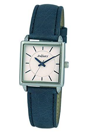 Arabians Męski analogowy zegarek kwarcowy ze skórzanym paskiem DBA2252A