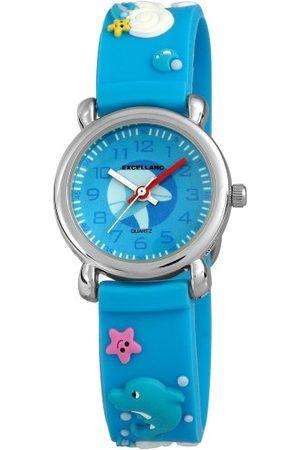 Excellanc Unisex zegarek na rękę analogowy kwarcowy kauczuk 40702300059