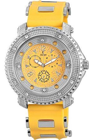 Classique Męski analogowy zegarek kwarcowy z silikonową bransoletką RP357240002