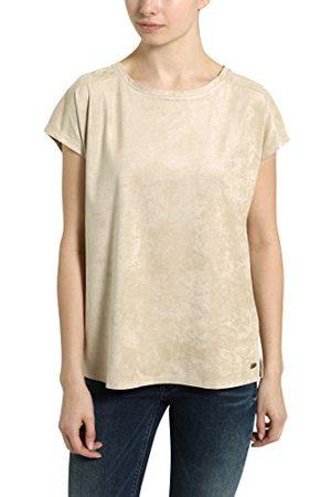 Berydale Damska koszulka z okrągłym dekoltem, beżowa, XS