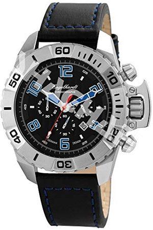 Engelhardt Męski analogowy zegarek mechaniczny ze skórzanym paskiem 388921129003