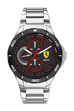 Scuderia Ferrari Męski analogowy zegarek kwarcowy z paskiem ze stali nierdzewnej 0830726