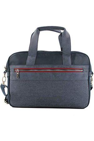 Coronel Tapiocca Męska czerwona torba na laptopa, 7 x 27 x 39 cm, - Blau (Azul) - 7x27x39 centimeters (W x H x L)