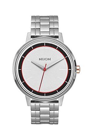 Nixon Męski analogowy kwarcowy zegarek z bransoletką ze stali szlachetnej A099SW 2445-00