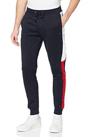 Tommy Hilfiger Męskie spodnie dresowe Intarsia