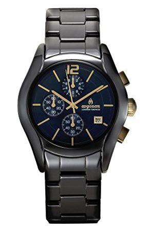 ARGONAU Unisex Dorośli Analogowy zegarek kwarcowy z ceramiczną bransoletką AU1102