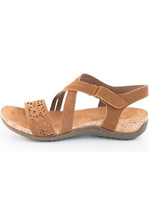 Bearpaw Glenda damskie sandały z rzemykiem, - Braun Natural 120 120-39 EU
