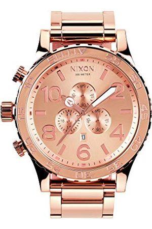 Nixon Zegarek kwarcowy z chronografem uniseks z paskiem ze stali nierdzewnej A083-897-00