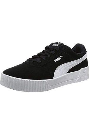 PUMA Damskie buty sportowe Carina, - Black Silver - 40 EU