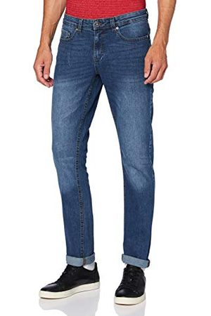 Izod Męskie dżinsy Lonestar Tapered Denim