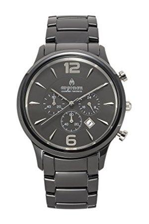 ARGONAU Unisex Dorośli Analogowy zegarek kwarcowy z ceramiczną bransoletką AU1002