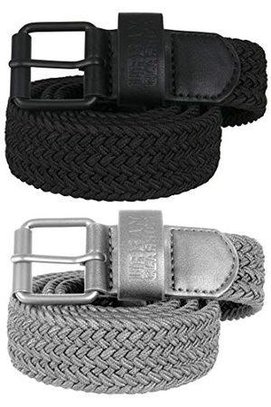 Urban classics Unisex Elastic Belt zestaw pasków (2 sztuki)