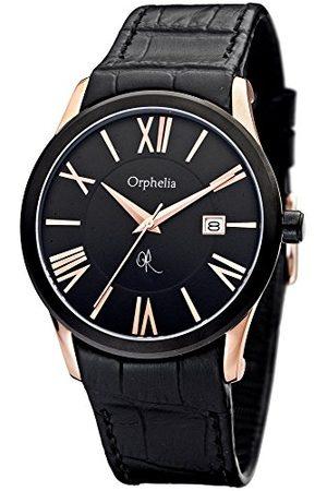 ORPHELIA Męski zegarek analogowy XL skóra OR32671044 kwarcowy